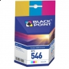 CL-546 COLOR zamiennik BLACK POINT tusz Canon iP2850 MG2450 MG2550 MG2950 MX495