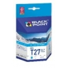 T2712 / 27XL  CYAN tusz  BLACK POINT do Epson WorkForce WF-3640 DTWF, Epson WorkForce WF-7110 DTW, Epson WorkForce WF-7610 DWF
