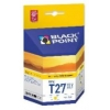 T2713 / 27XL  YELLOW  tusz  BLACK POINT do Epson WorkForce WF-3640 DTWF, Epson WorkForce WF-7110 DTW, Epson WorkForce WF-7610 DWF