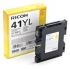 Tusz Ricoh do SG2100N/3110DN/3110DNW GC 41YL | 600 str. | yellow-504888